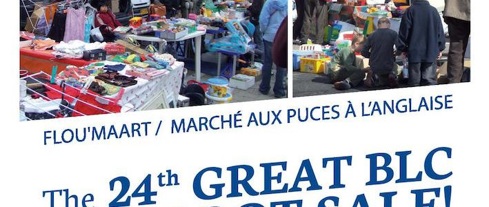 Domingo 18 de Junio. Brocante parking de Glacis