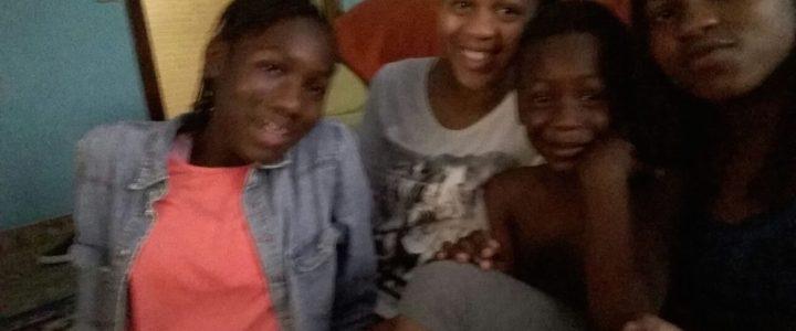 Sidibe se reune con su familia