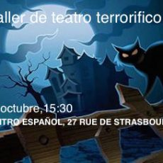 Taller de teatro terrorífico 15 de octubre 15:30h